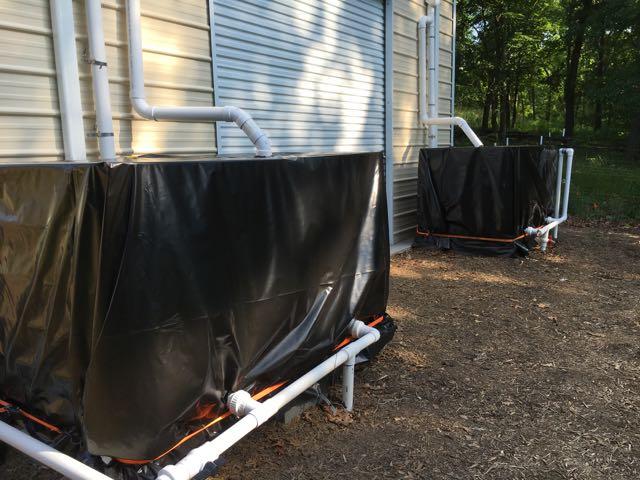 Romney WV Farm Update - Water Harvest
