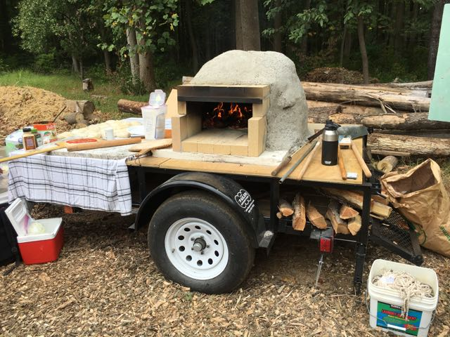 Homemade Pizza Oven | Paw Paw Festival