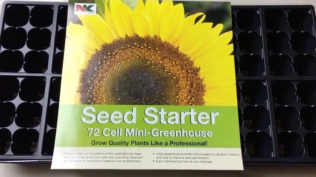 Seed Starting Indoors to Save Money - Seed Tray