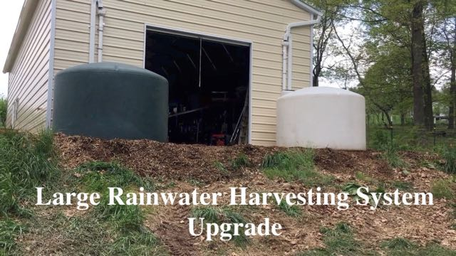 Large Rainwater Harvesting System Upgrade