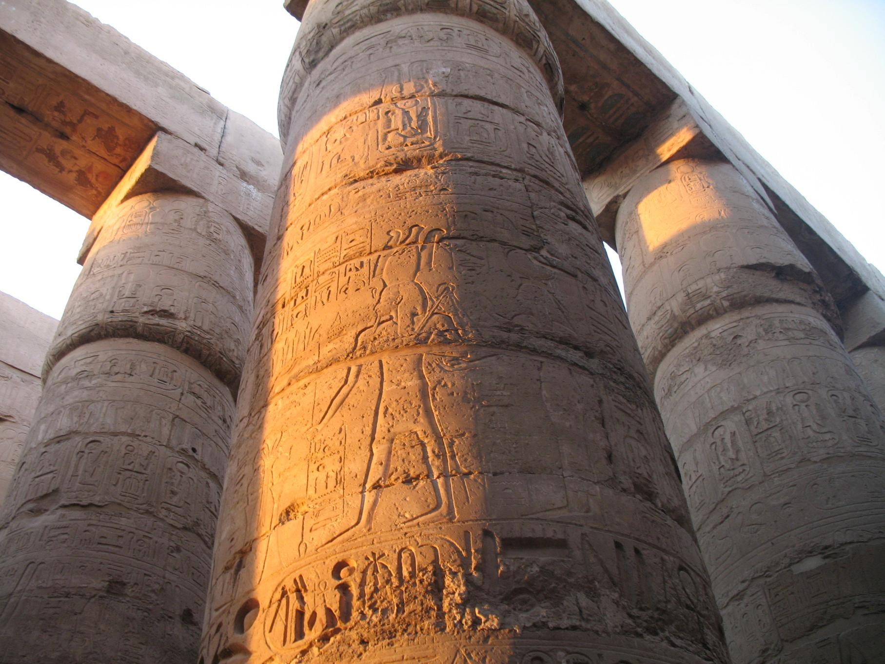 Largest temple in the world - Karnak Temple, Luxor, Egypt