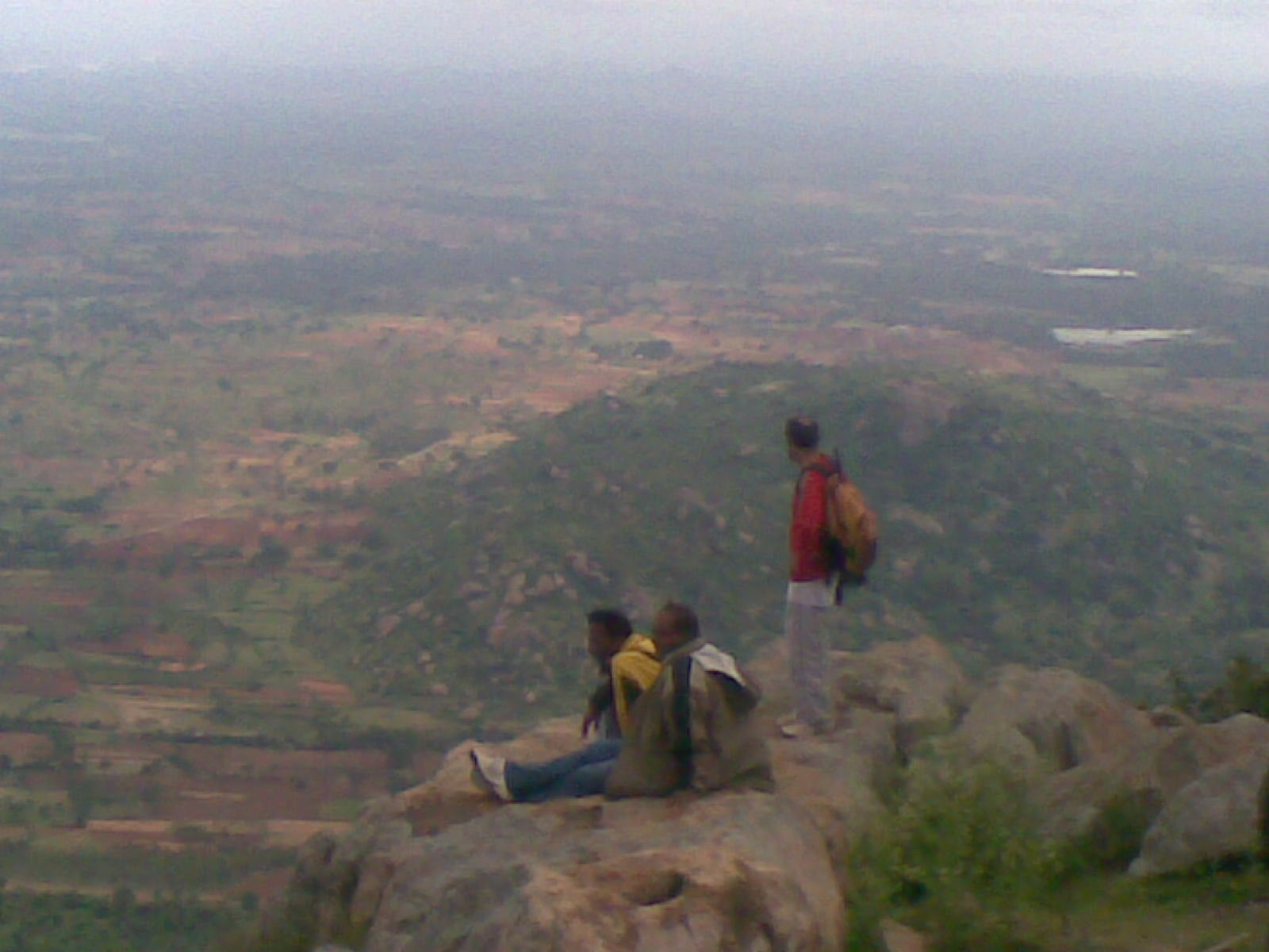 Trekkers at the view point