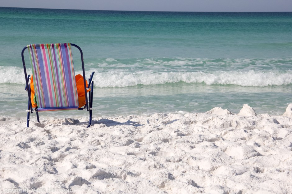 Miramar Beach, FL - beach chair