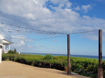 Seaside deck lights
