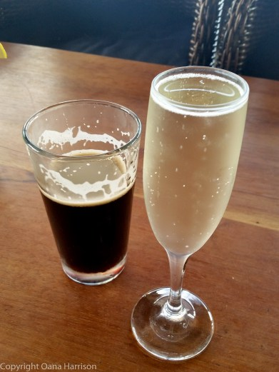 Seaside Prosecco and Beer
