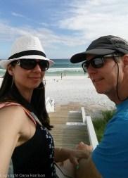 Seaside Oana and David