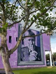 Seaside Purple Building