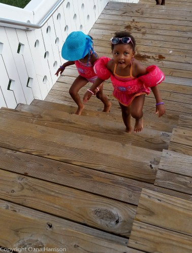 Seaside sassy girls