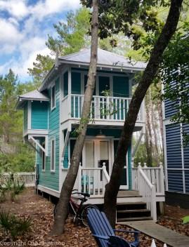 Seaside Turquoise Tiny House