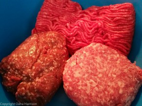 Meat for mici (lamb, pork, beef)