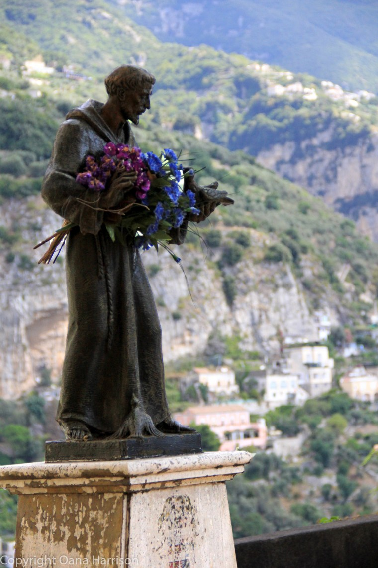 Francis of Assisi Statue Positano