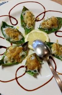 Sorrento dinner appetizer
