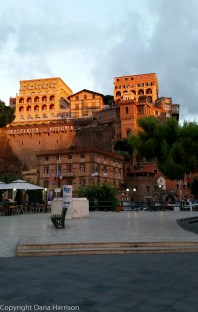 Sorrento Excelsior Hotel at Sunset