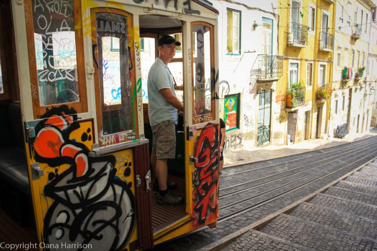 Riding the Bica Funicular