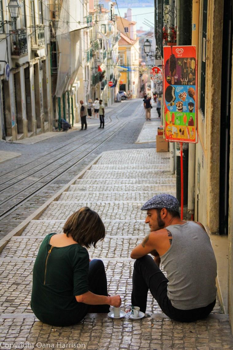 Coffee by Ascensor da Bica Lisbon