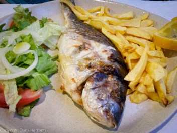 Dorada fish and chips