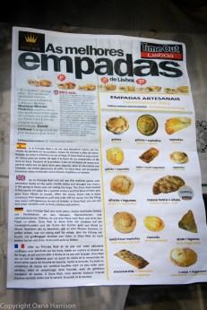 Lisbon pastries