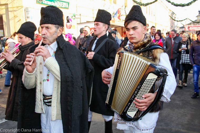 Romanian Traditions Christmas Maramures Singers