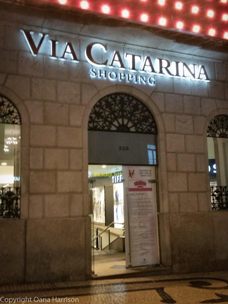 Via Catarina shopping, Porto, Portugal