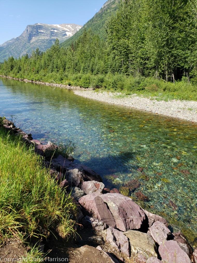 Montana-Glacier-river