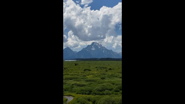 Grand Teton National Park range overview