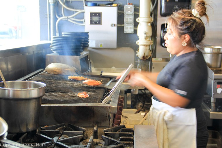 Local-Ocean-Newport-OR-36-woman-grilling-food