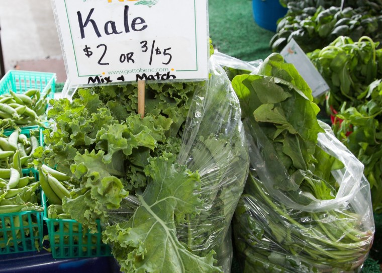 Kale-spinach