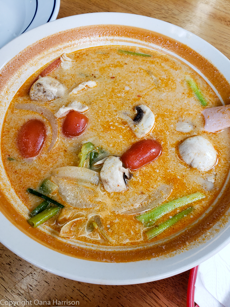 Al Thai Food Portland Oregon Tom Kha soup