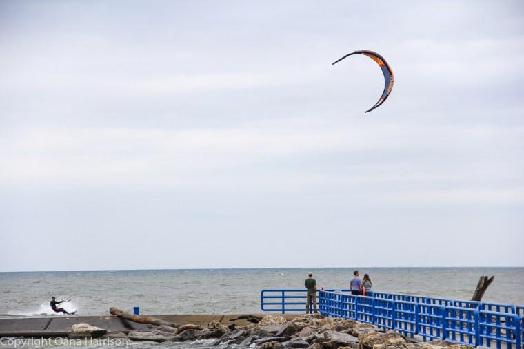 Holland-State-Park-Michigan-pier-kite