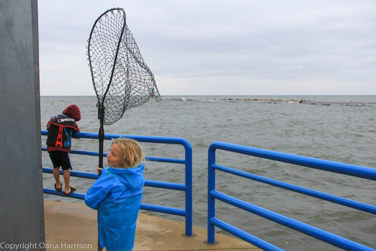 Holland-State-Park-Michigan-kids-on-pier