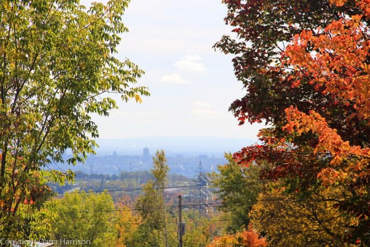 Quebec City view from Camping de la Joie RV park
