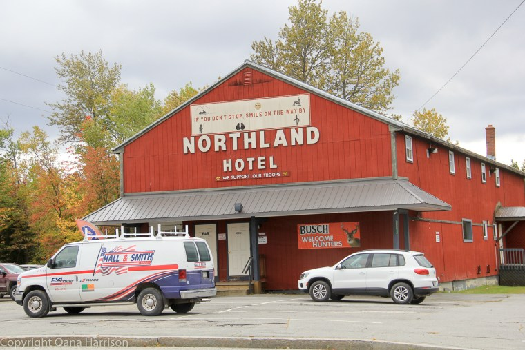 Northland Hotel, Jackman, Maine, Old Canada Road