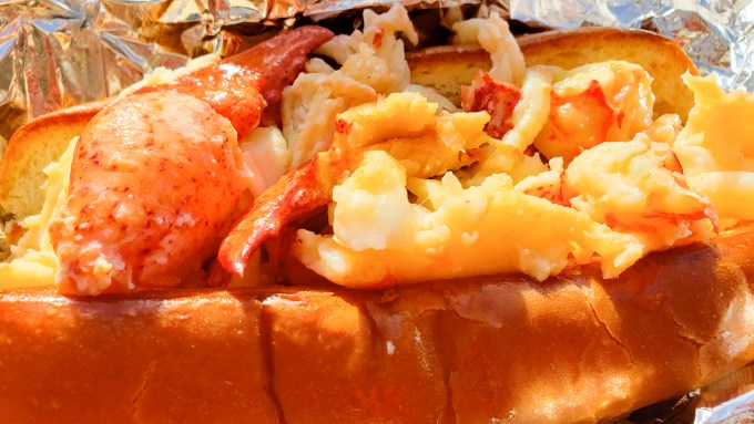 Hot Lobster Roll Maine