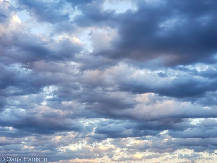 Clouds in the sky Del Rio Texas