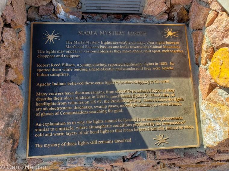 Marfa Texas Marfa lights info