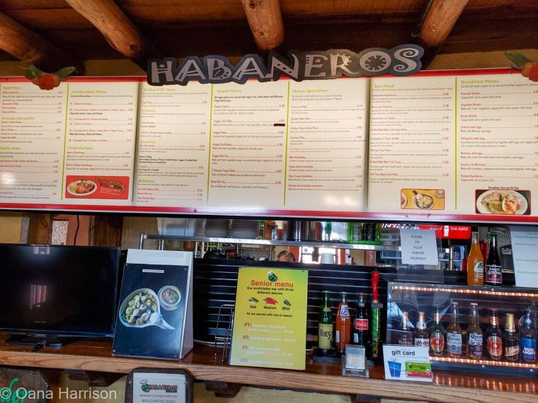 Habaneros Mexican Restaurant, Las Cruces, New Mexico