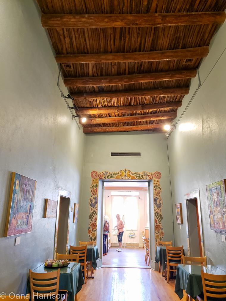 Tucson, Arizona, Old Town, Cafe a la c'art