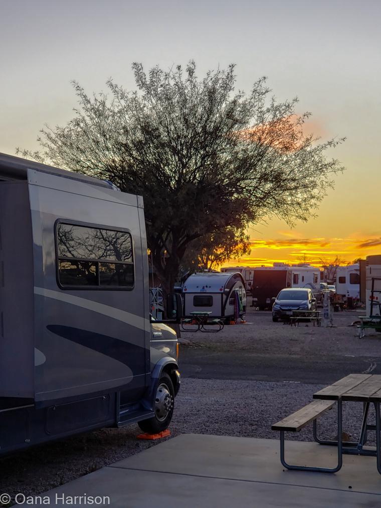 Cactus Country RV Park, Tucson, Arizona