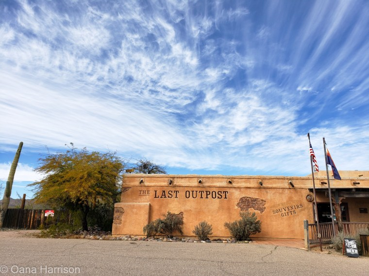 Old Tucson Saguaro West Arizona