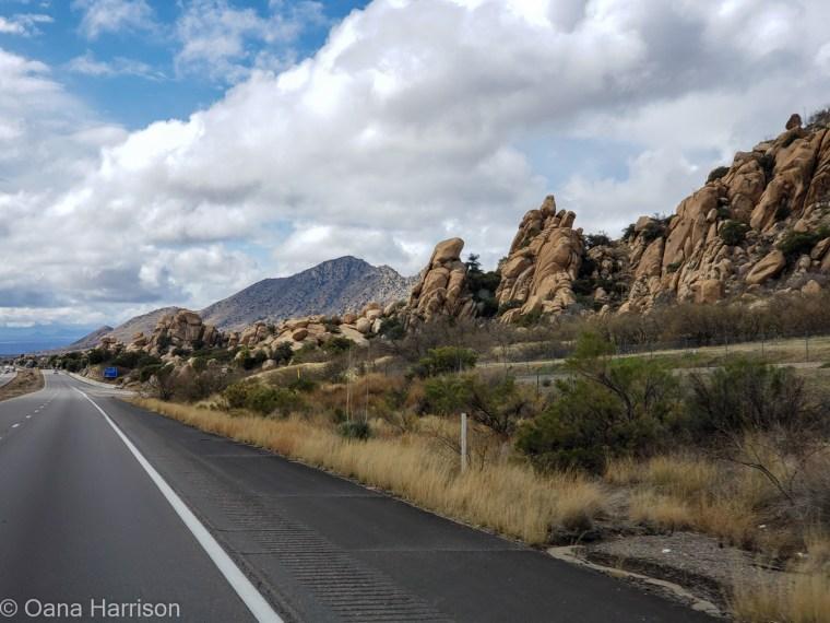 Boulders outside of Tucson, AZ