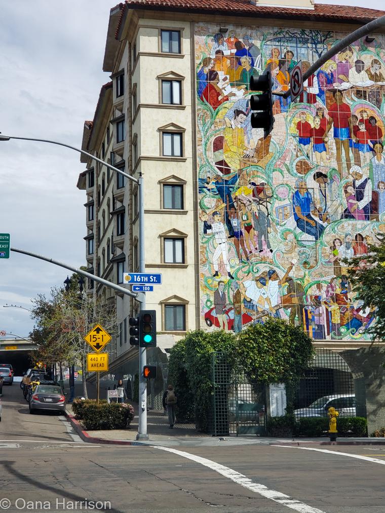 San Diego, California mural
