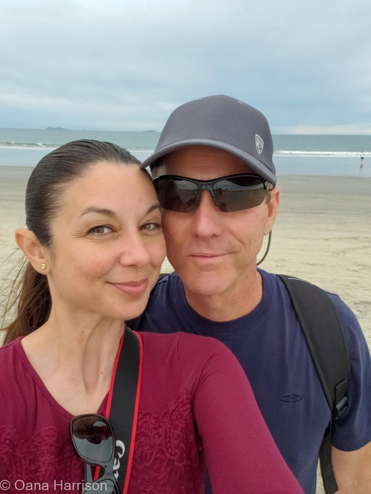 San Diego, California, Coronado beach, Oana and David