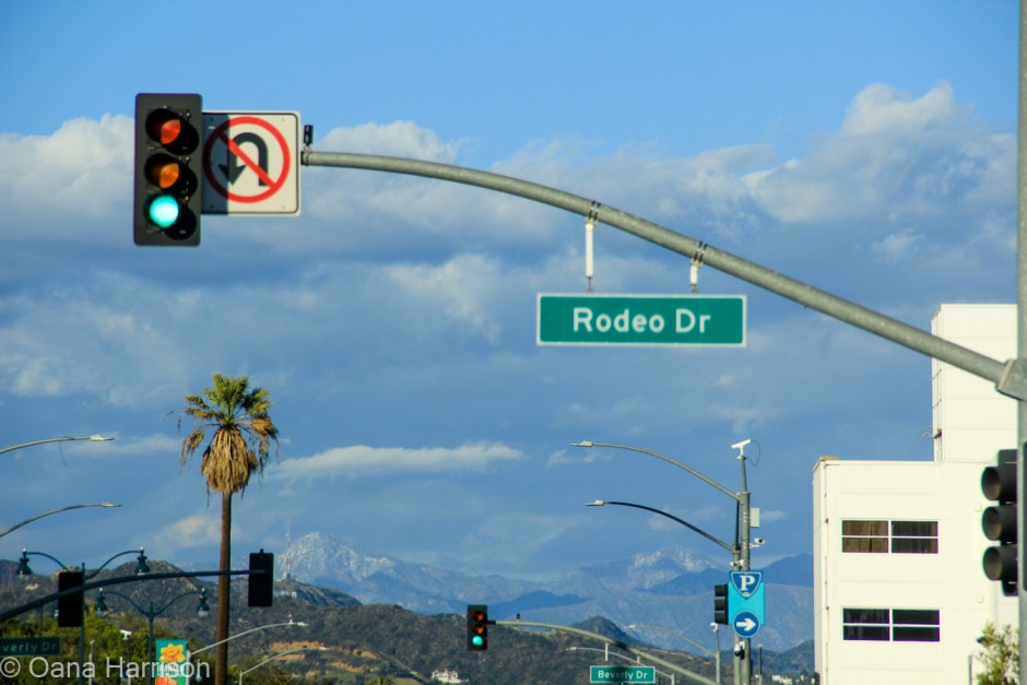 Beverly Hills and Hollywood, California, Rodeo Drive