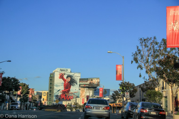 Beverly Hills and Hollywood, California