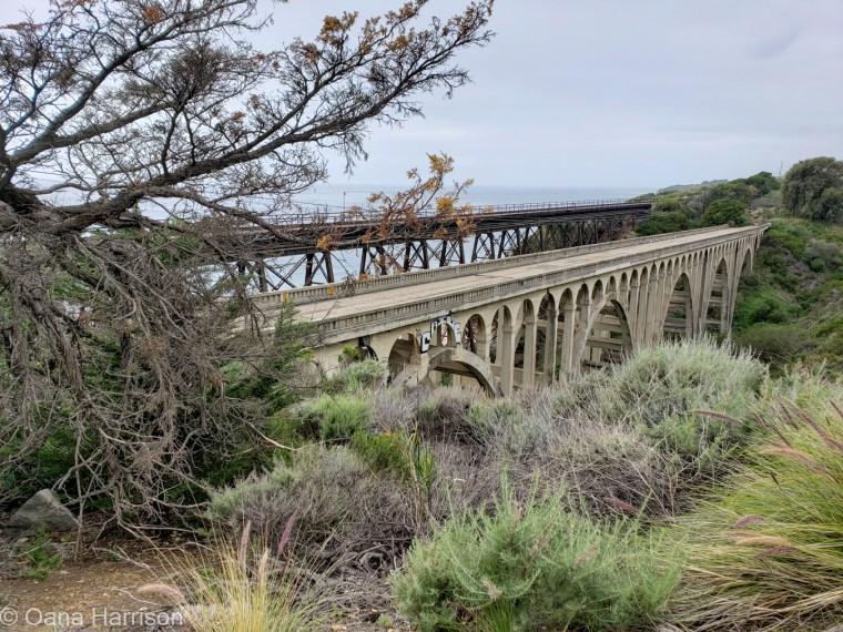Arroyo Hondo railway bridge, California