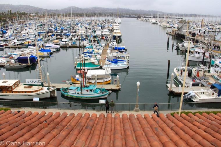 Santa Barbara, California, the marina