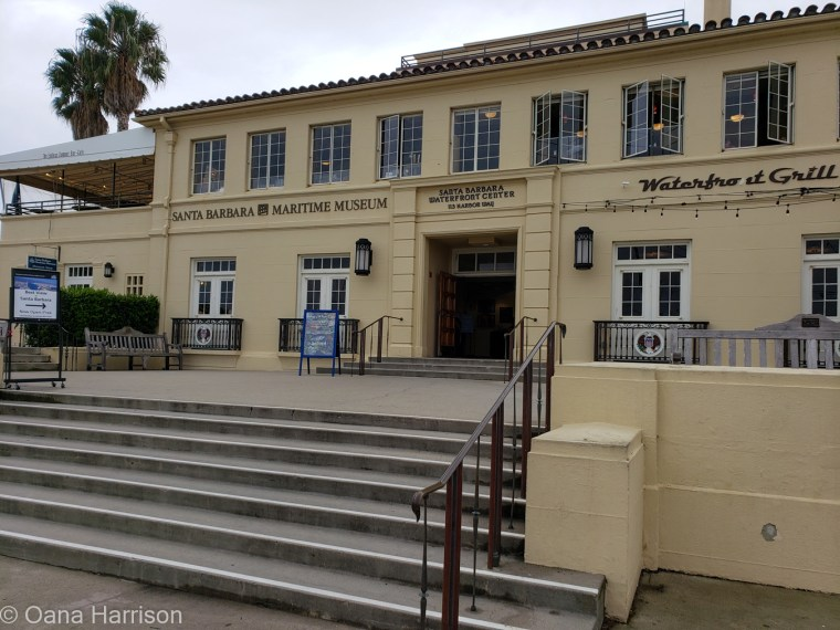 Santa Barbara, California, waterfront grill and maritime museum