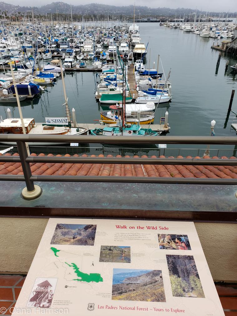 Santa Barbara, California, the port
