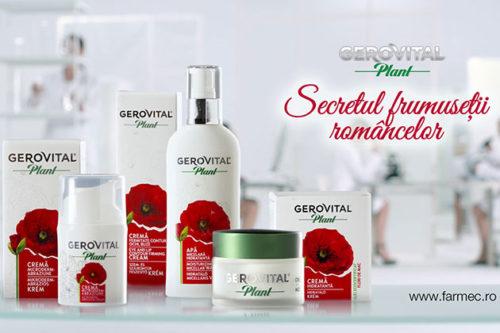 Gerovital-Plant-FARMEC-secretul-frumusetii-romancelor