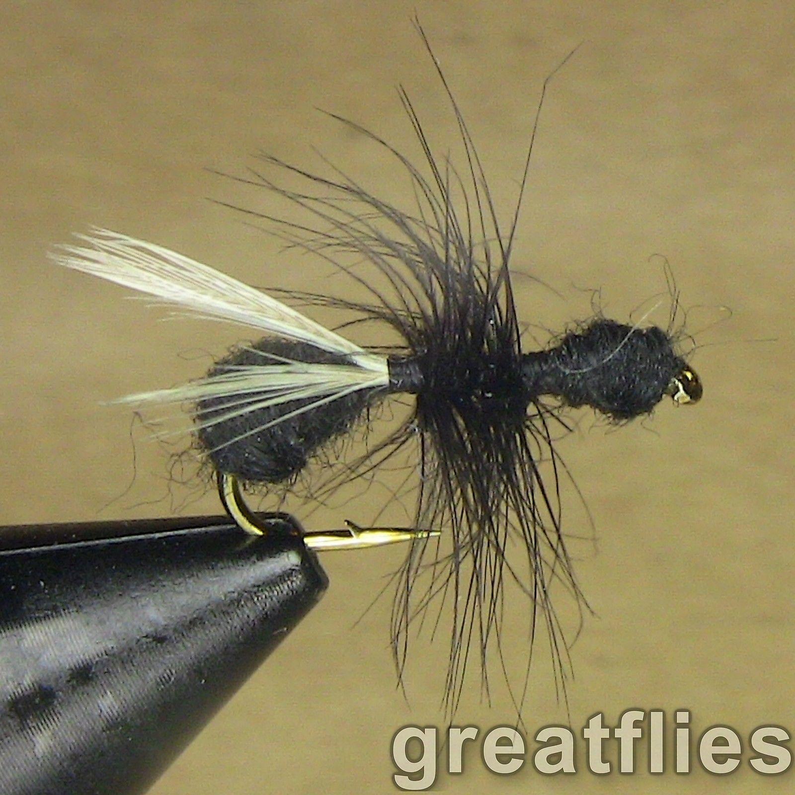 1 dozen Parachute Grasshopper - Para Hopper - TAN 12